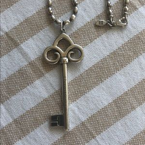 Tiffany 24 inch key necklace great condition